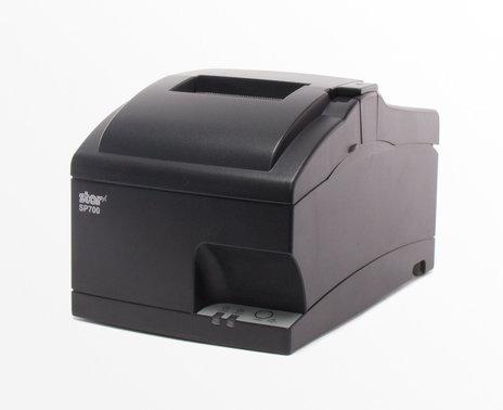 Refurbished SP700 Ethernet Printer, angled view