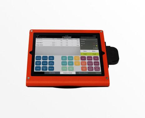 Refurbished WindFall iPad 2/3/4 POS Stand, red