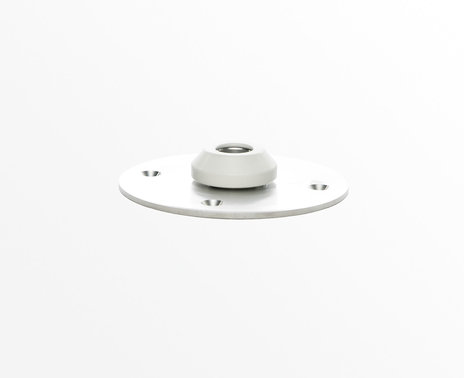 Rotation base for Simplicity enclosure, white