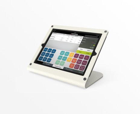 Refurbished WindFall iPad Mini POS Stand, white