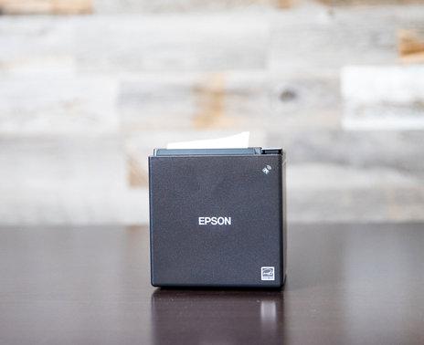 Epson TM-m10 Ethernet Printer, straight on