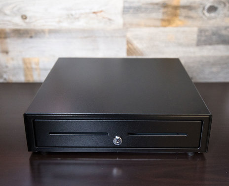 APG 1616 Standard Duty Printer Driven Cash Drawer front view