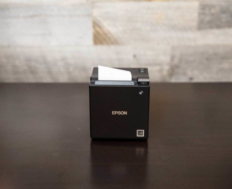 Epson TM-m10 Ethernet Printer, straight view