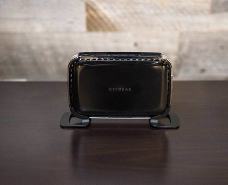 ShopKeep's Netgear WN2500RP Wireless Range Extender, front view