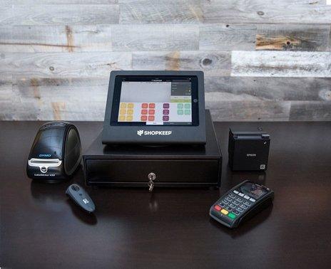 "Basic Retail Hardware Kit for iPad Air Black and Epson 2"" Printer"