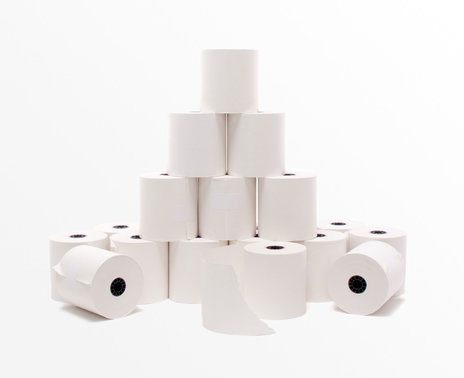 Thermamark Thermal Paper, 20 rolls, stacked
