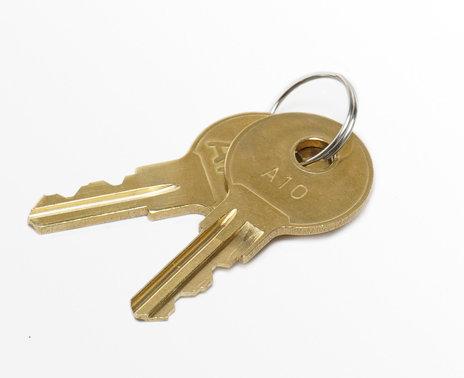 Set of two APG Heavy Duty Cash Drawer Keys