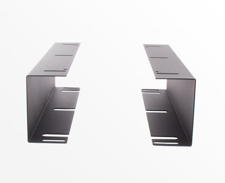 APG Standard Duty Cash Drawer Mount, front view
